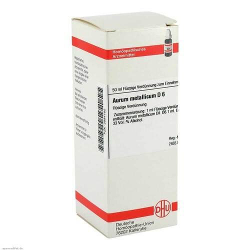 Aurum metallicum D 6 Dilution - 1