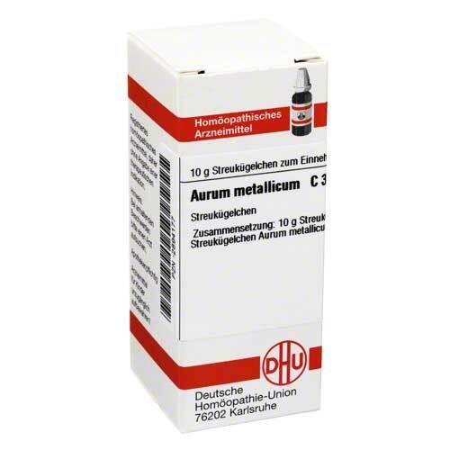 DHU Aurum metallicum C 30 Globuli - 1
