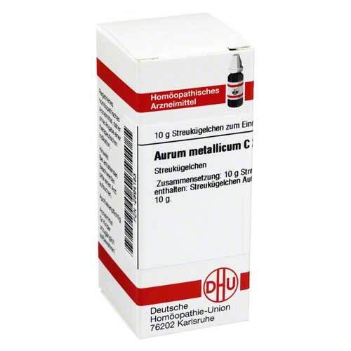 Aurum metallicum C 200 Globuli - 1