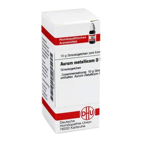 Aurum metallicum D 10 Globuli - 1