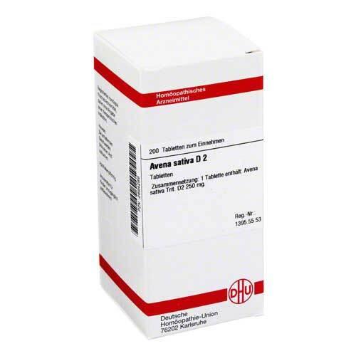 Avena sativa D 2 Tabletten - 1
