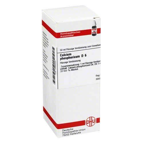 Calcium phosphoricum D 6 Dilution - 1