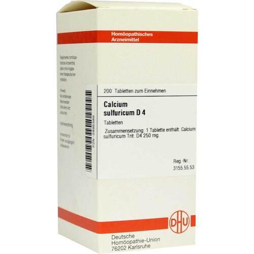 Calcium sulfuricum D 4 Tabletten - 1