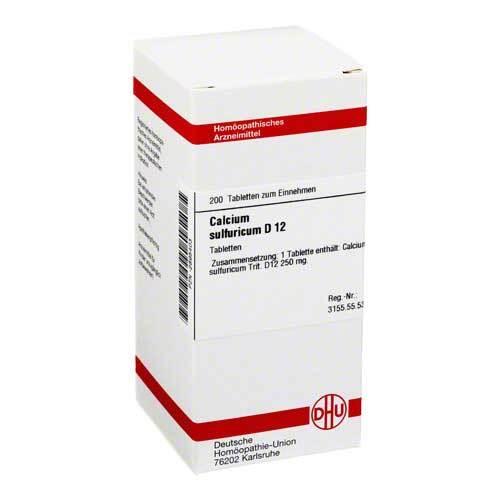 Calcium sulfuricum D 12 Tabletten - 1