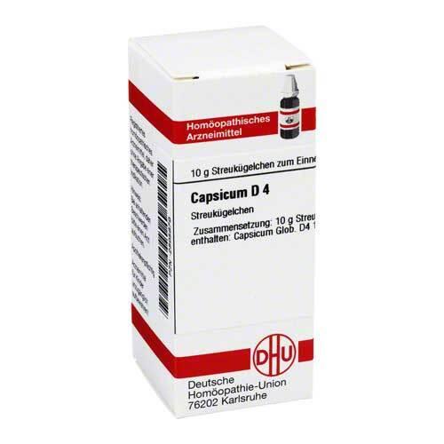 DHU Capsicum D 4 Globuli - 1