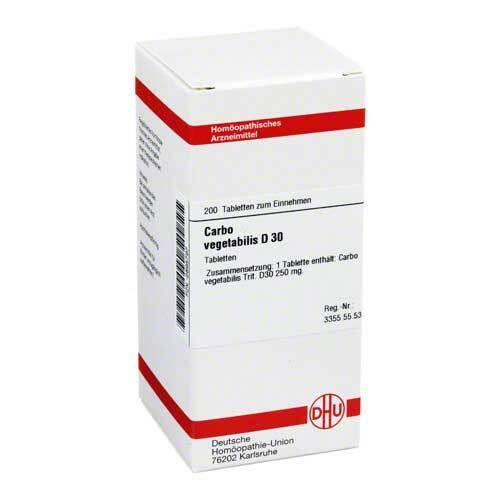 Carbo vegetabilis D 30 Tabletten - 1
