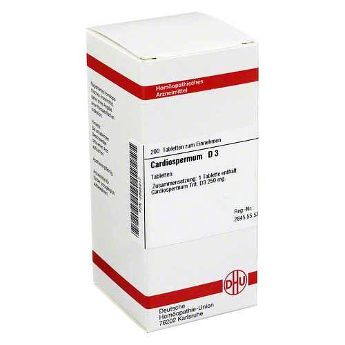 DHU Cardiospermum D 3 Tabletten - 1