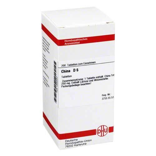 China D 6 Tabletten - 1