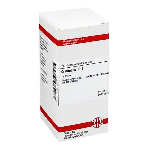 Crataegus D 1 Tabletten - 1