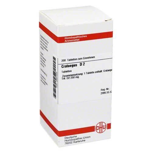 DHU Crataegus D 2 Tabletten - 1