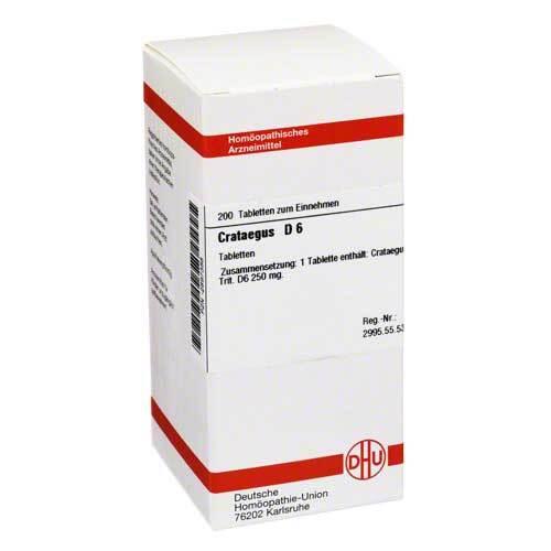 DHU Crataegus D 6 Tabletten - 1