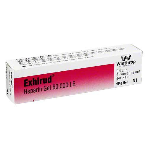 Exhirud Heparin Gel 60.000 I.E. - 1