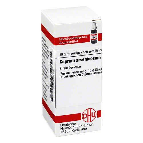 DHU Cuprum arsenicosum D 10 Globuli - 1