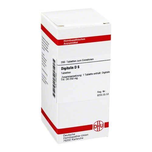 DHU Digitalis D 6 Tabletten - 1