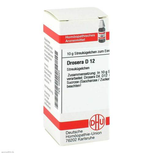 Drosera D 12 Globuli - 1