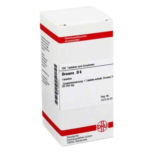 DHU Drosera D 6 Tabletten - 1