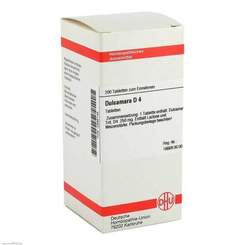 DHU Dulcamara D 4 Tabletten - 1