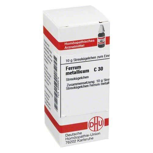 DHU Ferrum metallicum C 30 Globuli - 1