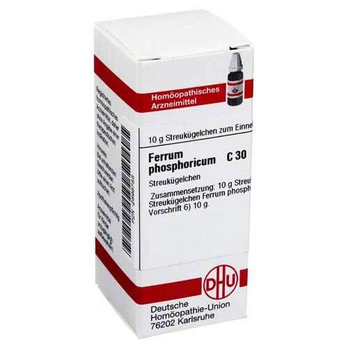 DHU Ferrum phosphoricum C 30 Globuli - 1