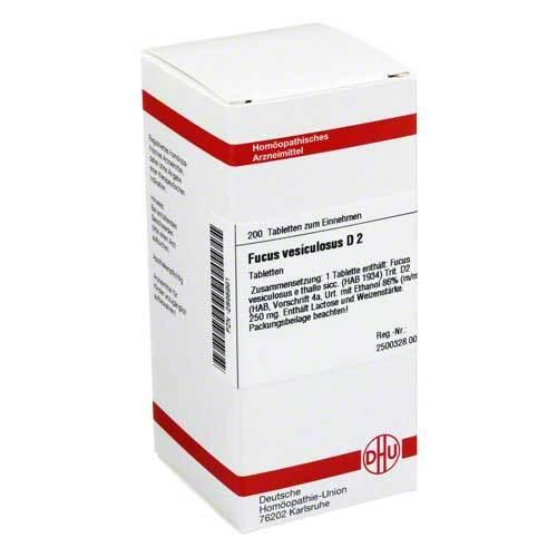 DHU Fucus vesiculosus D 2 Tabletten - 1