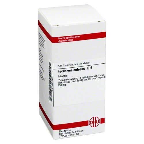 DHU Fucus vesiculosus D 6 Tabletten - 1