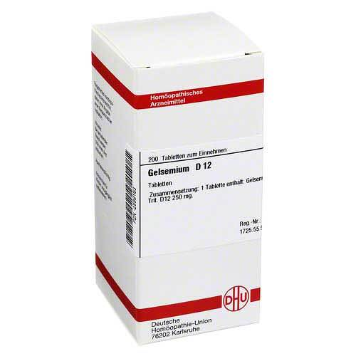 Gelsemium D 12 Tabletten - 1