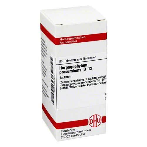 DHU Harpagophytum procumbens D 12 Tabletten - 1
