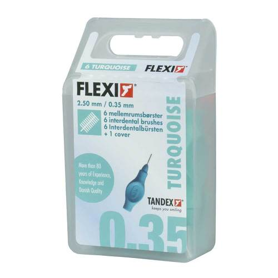 Tandex Flexi Interdental Bürsten türkis 0,35mm - 1