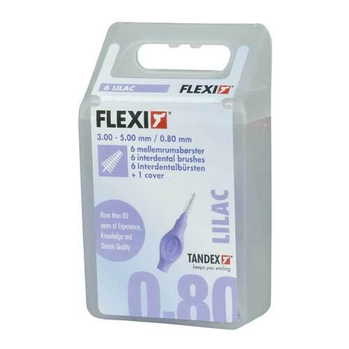 Tandex Flexi Interdental Bürsten lila 0,8mm - 1