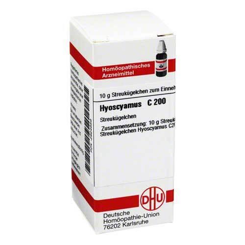 DHU Hyoscyamus C 200 Globuli - 1