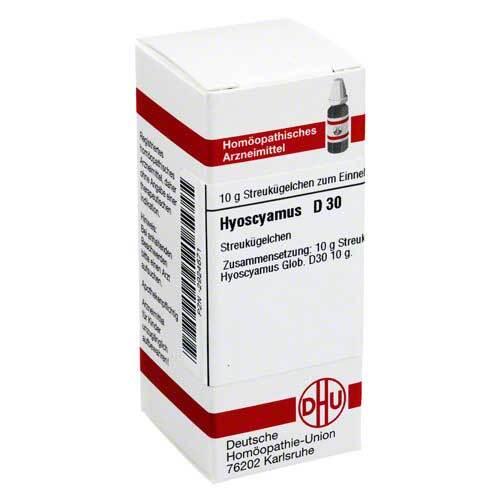 DHU Hyoscyamus D 30 Globuli - 1