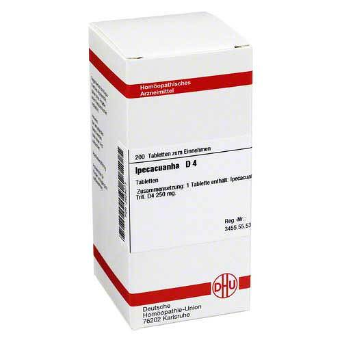 Ipecacuanha D 4 Tabletten bei APONEO kaufen
