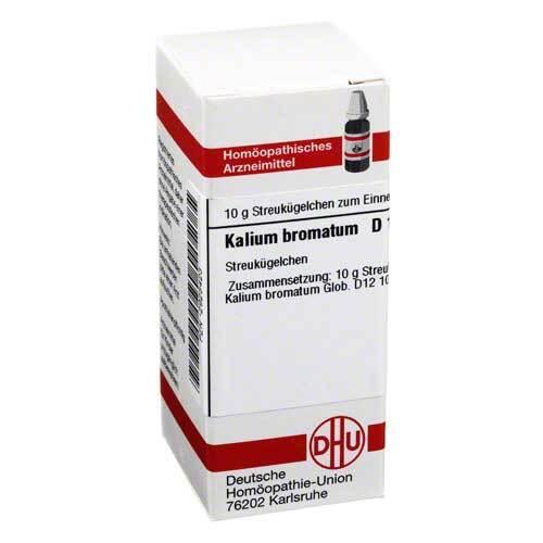 Kalium bromatum D 12 Globuli - 1