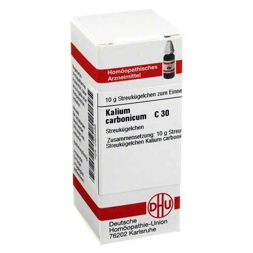 Kalium carbonicum C 30 Globuli - 1