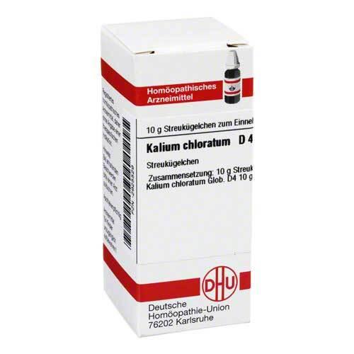 Kalium chloratum D 4 Globuli - 1