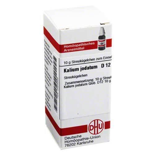 DHU Kalium jodatum D 12 Globuli - 1