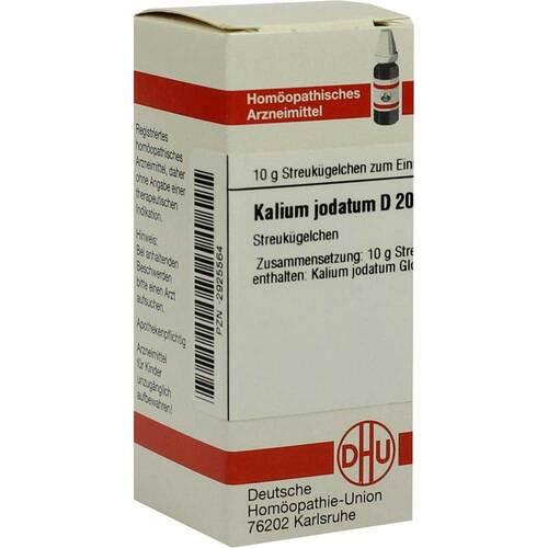 DHU Kalium jodatum D 200 Globuli - 1
