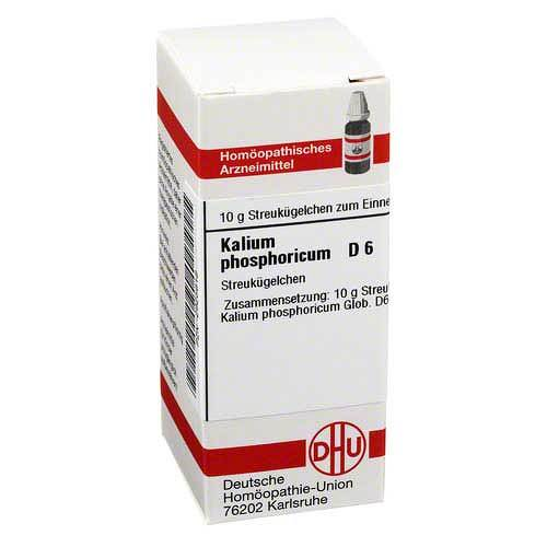 DHU Kalium phosphoricum D 6 Globuli - 1