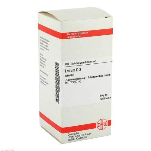 Ledum D 2 Tabletten - 1