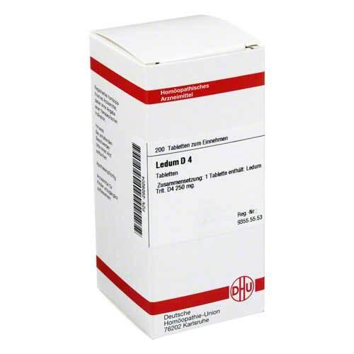 DHU Ledum D 4 Tabletten - 1