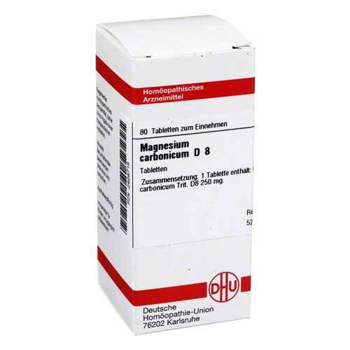 Magnesium carbonicum D 8 Tabletten - 1