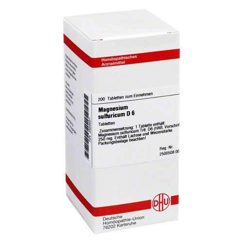 Magnesium sulfuricum D 6 Tabletten - 1