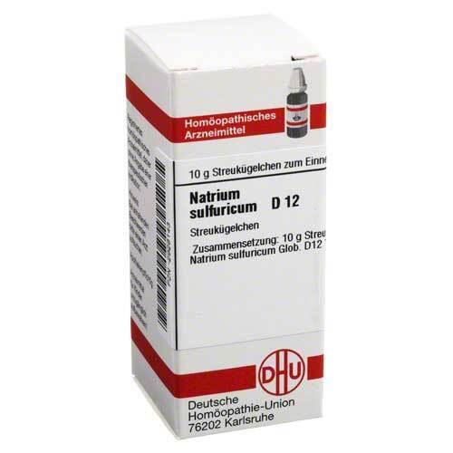 DHU Natrium sulfuricum D 12 Globuli - 1