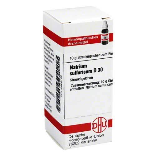 Natrium sulfuricum D 30 Globuli - 1