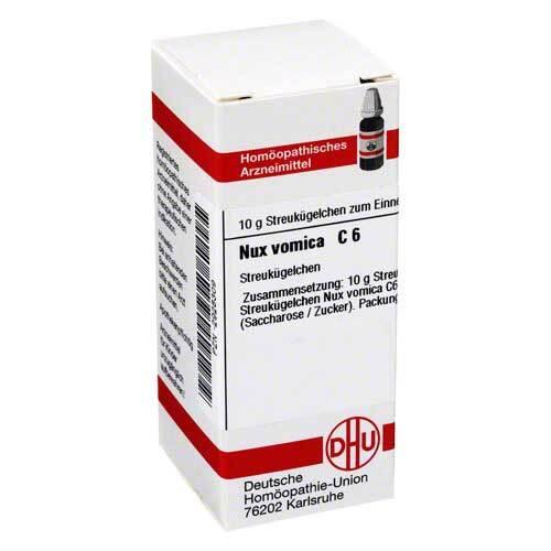 Nux vomica C 6 Globuli - 1