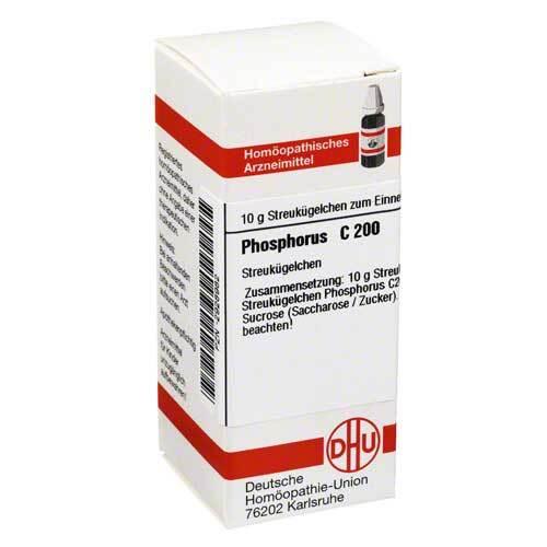 DHU Phosphorus C 200 Globuli - 1
