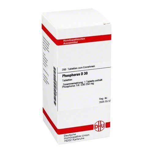 DHU Phosphorus D 30 Tabletten - 1