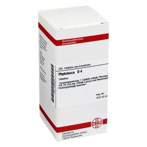 DHU Phytolacca D 4 Tabletten - 1