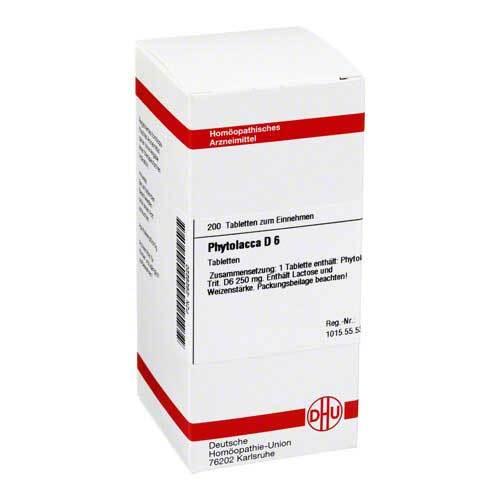 Phytolacca D 6 Tabletten - 1