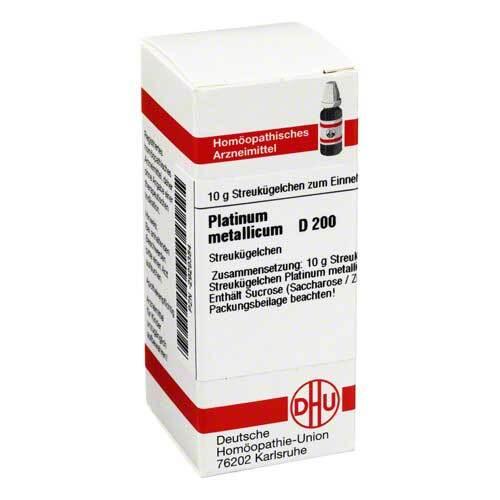 DHU Platinum metallicum D 200 Globuli - 1